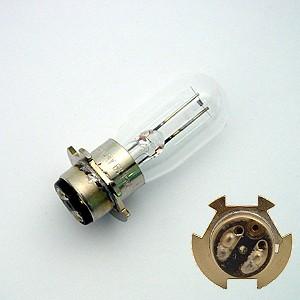 Lampe 6V 15W mit Zentrierring