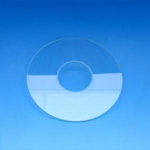Tischeinsatz, Glas, D=110 mm, d=38 mm