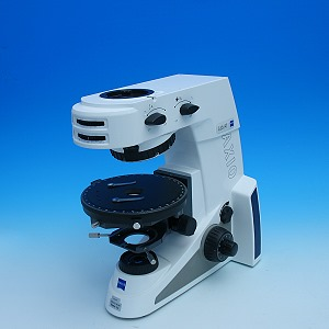 Mikroskopstativ Axio Lab.A1 HAL 35, 4x H, Konoskopie, Drehtisch 360 Grad