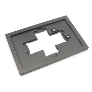 Halterahmeneinsatz Flex M, Objektträger und Kammern
