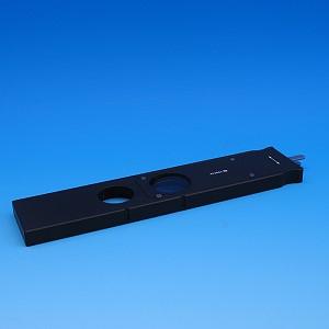 Analysatorschieber D/A mit Lambdaplatte, jeweils +/- 10° drehbar