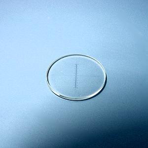 Strichkreuzmikrometer 10:100, d=19 mm