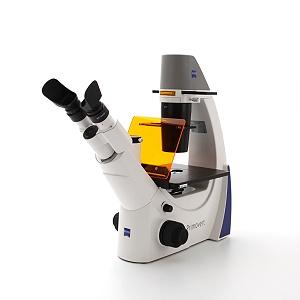 Primovert iLED mit Fototubus für Auflicht-Fluoreszenz und Ph1
