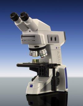 Mikroskop Axio Lab.A1 MAT HAL 50 für Auflicht-Hellfeld und -Dunkelfeld