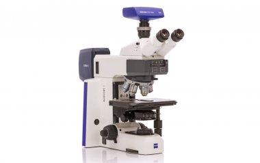 Mikroskope Axioscope 5 mit Colibri 3 (GB) für Auflichtfluoreszenz mit Kamera