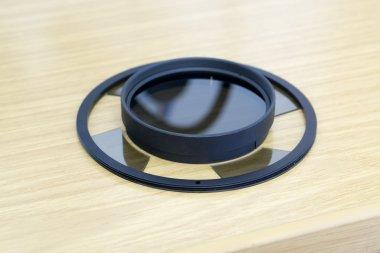 Polfilter-Set, segmentiert für VisiLED-Ringlicht S80-55