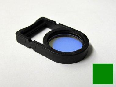 Einlegefilter / Farbfilter Grün für Schott Lichtquellen