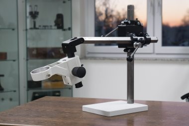 Flexi Kompakt Tischstativ mit Feintrieb, neigbar