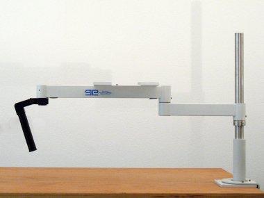 Flexi Tischstativ C mit variabler Höhe starr, mit Neigekupplung