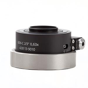 """Kamera-Adapter 60N-C 2/3"""" 0,63x drehbar 2°"""