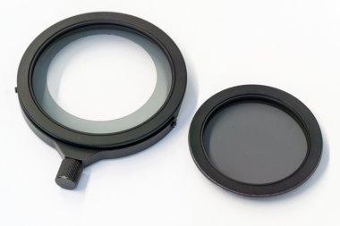 Polarisationsfilter-Set für Spaltringlicht Standard