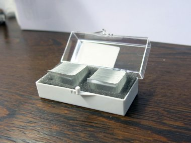 Deckgläser hoch präzise, D=0,17mm, 22x22mm, Schachtel mit 200 Stück