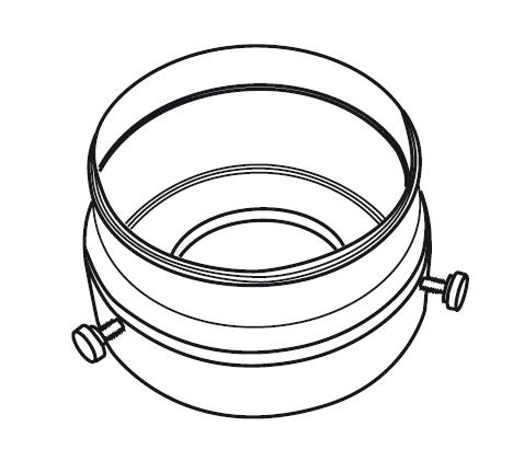 Kombi-Kit, Adapterset für Objektiv Arbeitsabstände 30 - 110 mm
