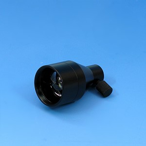 Fokussiervorsatz ohne Filter für Lichtleiter bis zu 6mm