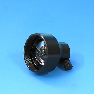 Fokussiervorsatz ohne Filter für Lichtleiter bis zu 9mm