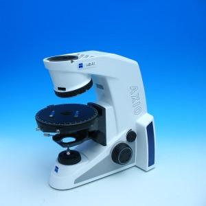 Axio Lab.A1 Mikroskopstativ HAL 35, 4x H, Drehtisch Pol 360 Grad