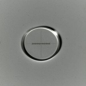 Strichkreuzmikrometer 10:100, d=21 mm