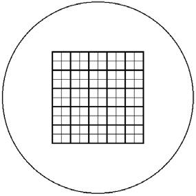 Okularnetz-Set 10x10/5;10/18