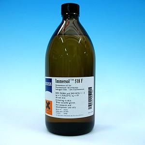 Zeiss Immersionsöl Immersol 518 F fluoreszenzfrei, Flasche 500 ml