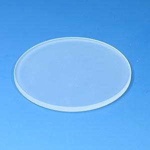 Einlegeplatte für Stative, 84mm, glas, mattiert