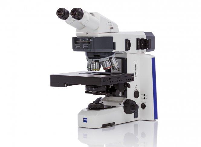 Mikroskop Axioscope 7 AL HF/DF, motorisiert