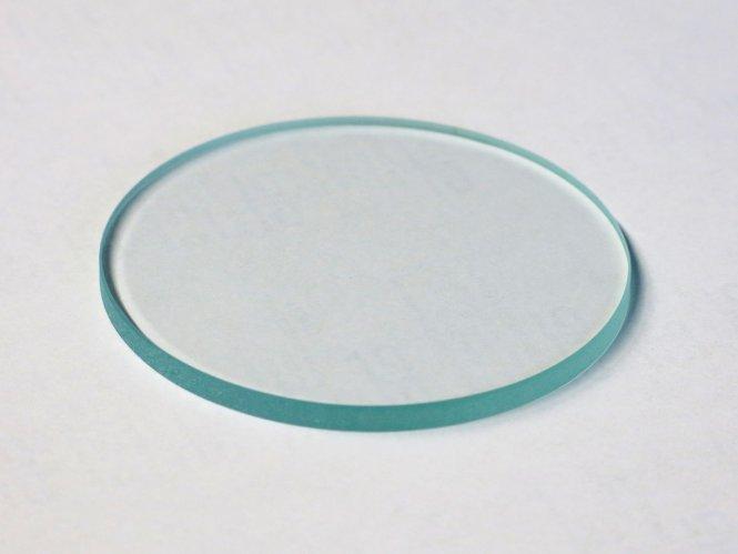 Einlegeplatte für Stative, 84mm, Glas, klar