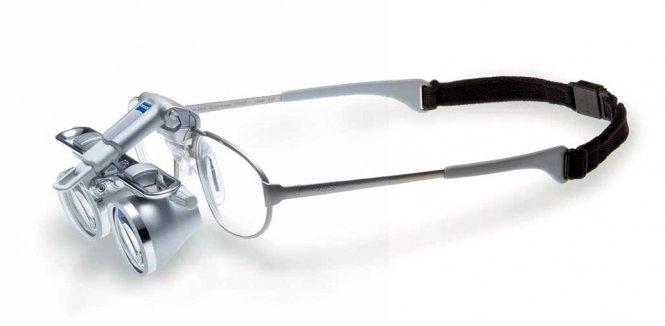 Set: Kopflupe EyeMag Smart + Light II