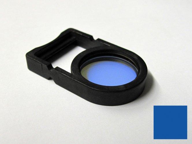 Einlegefilter / Farbfilter Blau für Schott Lichtquellen
