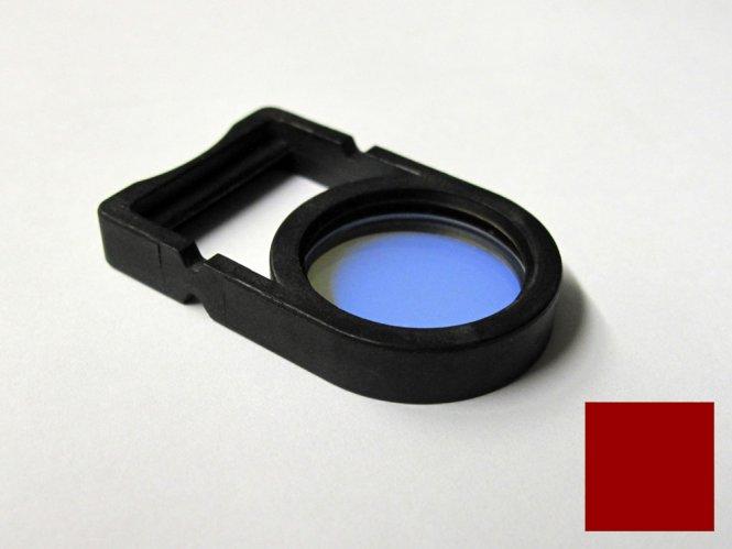 Einlegefilter / Farbfilter Rot für Schott Lichtquellen