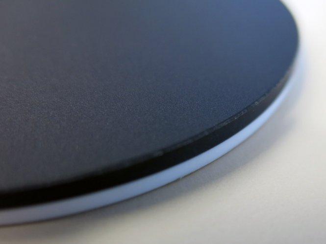 Einlegeplatte für Stative, 84mm, Kunststoff S/W