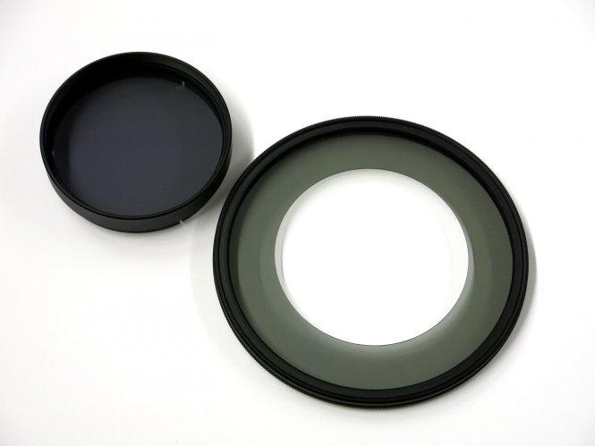 Polfilter Set für EasyLED- und VisiLED-Ringlicht