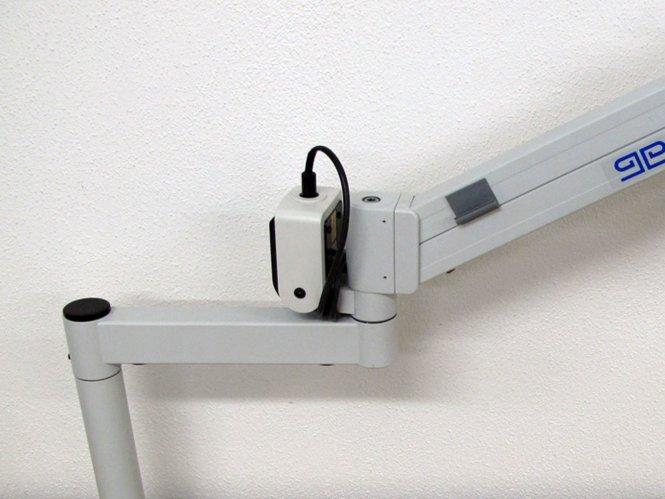 Lichtquellenhalterung für Flexi-Federgelenkarm KL200/300