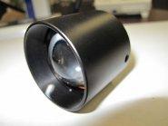 Fokussiervorsatz ohne Filter für Lichtleiter mit 15 mm
