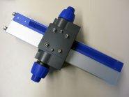 Stativsäule mit Grob-/Feintrieb 490 mm