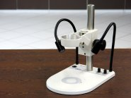 MikstaLED M Auflichtstativ mit 2-armiger Beleuchtung mit Durchlichteinheit
